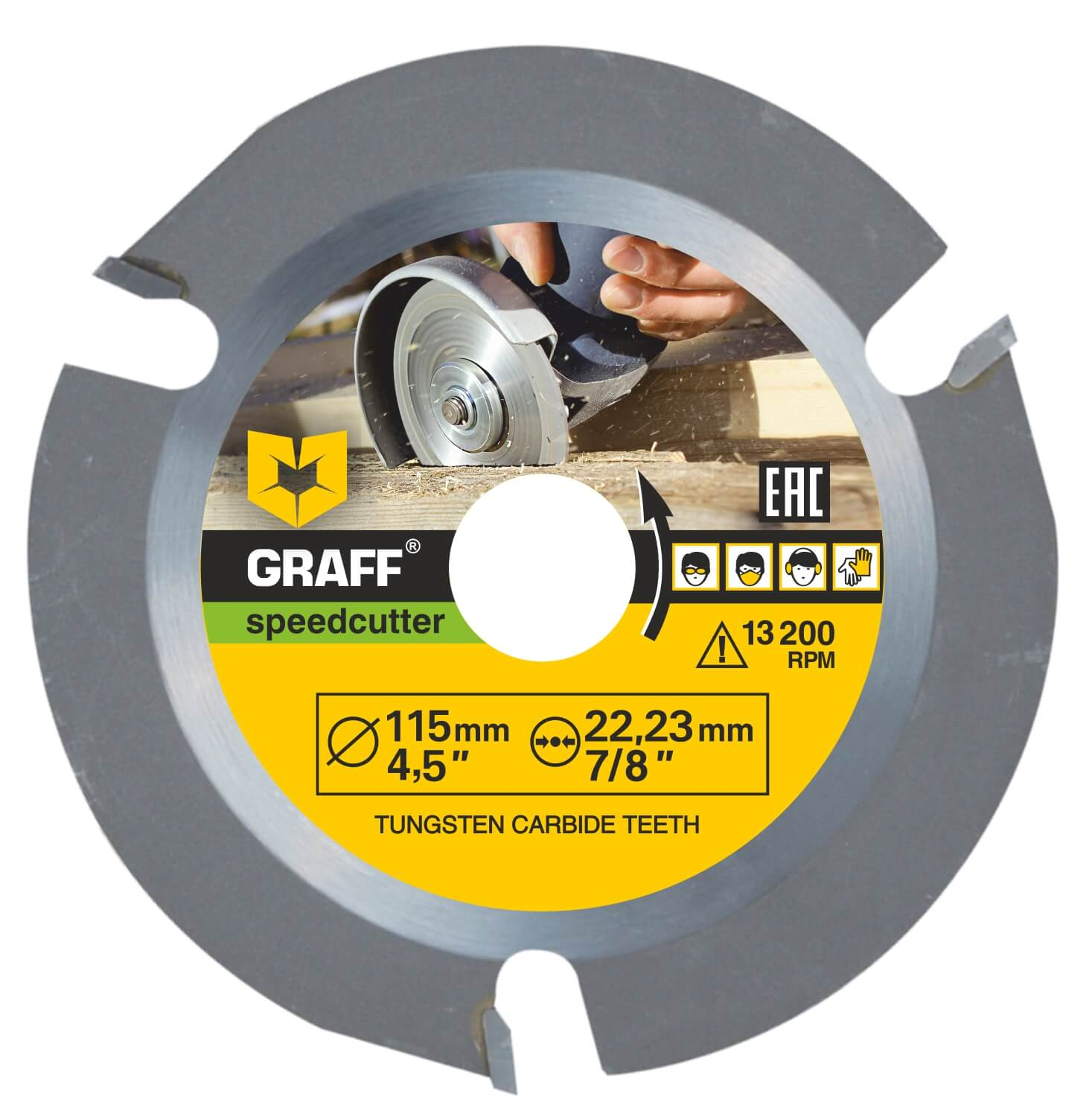 Disc GRAFF Speedcutter 115 (4,5 inch.)